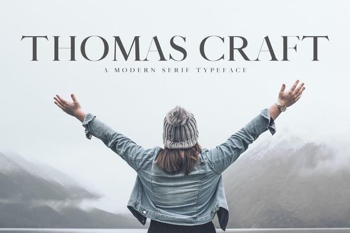 Thumbnail for Thomas Craft A Modern Serif Typeface