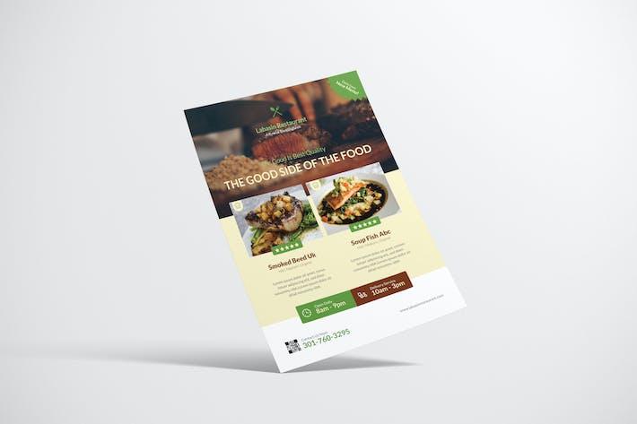 Thumbnail for New Menu Restaurant Flyer Design