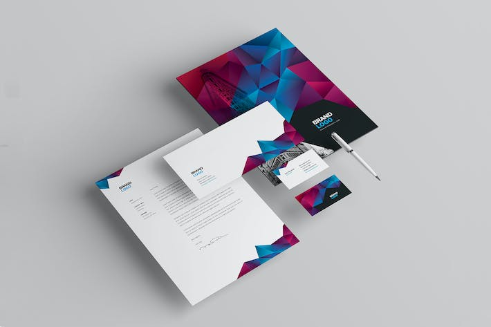 Thumbnail for Cool Modern Stationery