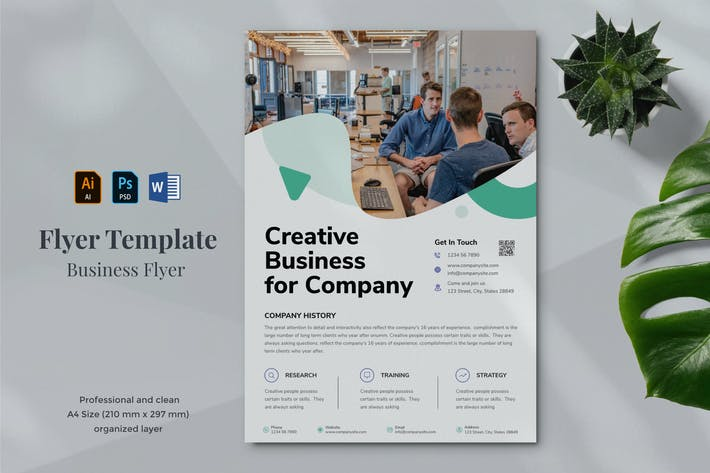 Thumbnail for Business Flyer Template 26