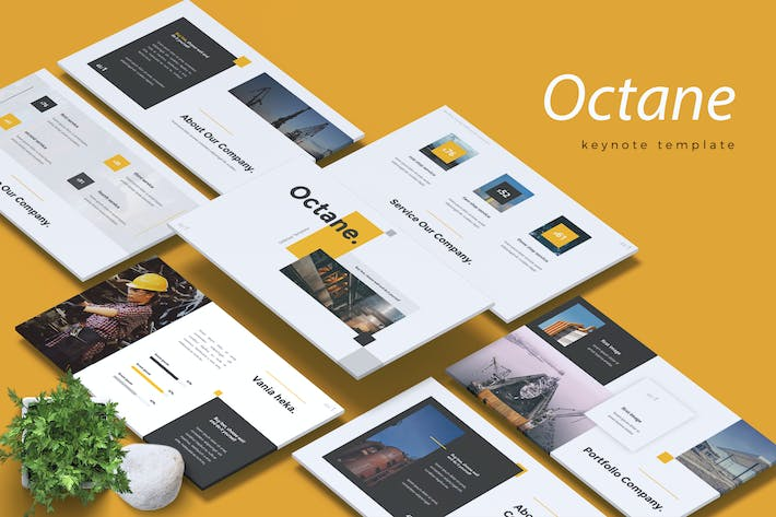 OCTANE - Oil & Gas Industry Keynote Template