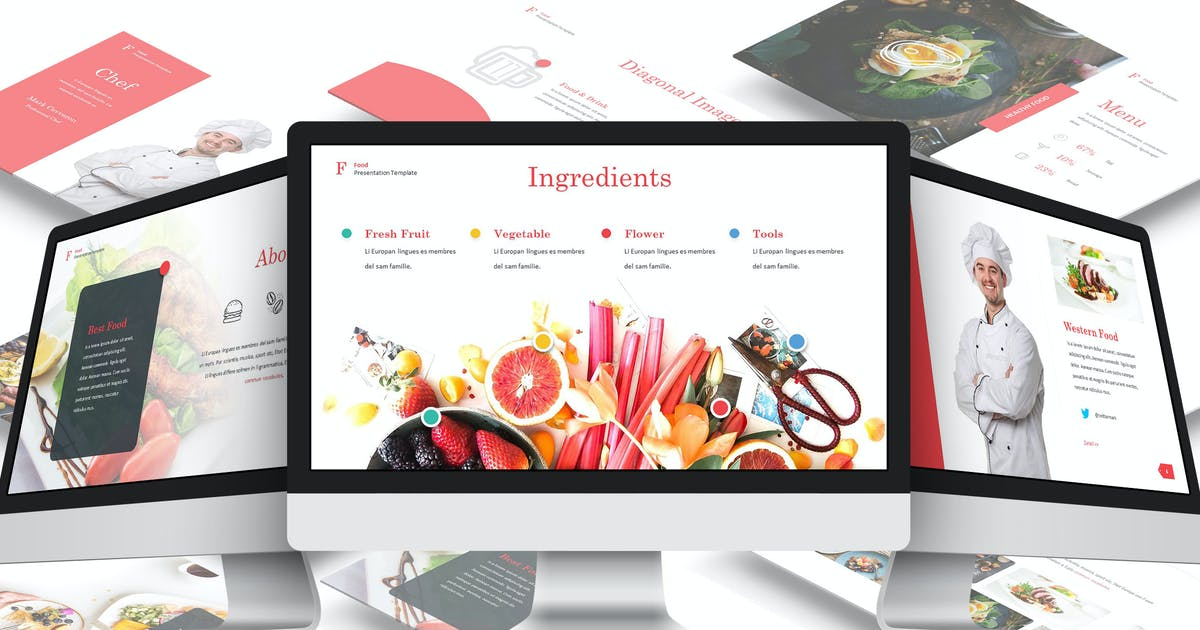Download Fuud - Culinary Google Slides Template by Unknow