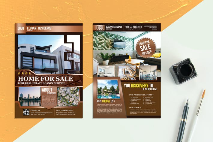 Thumbnail for Real Estate Flyer vol.02
