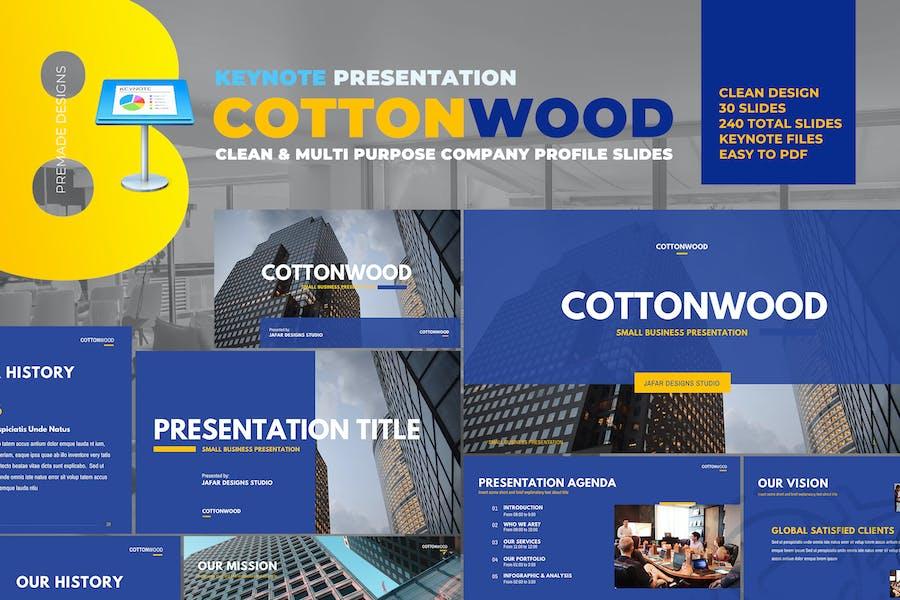 CottonWood - Company Profile Keynote