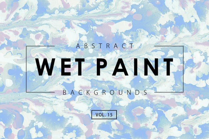 Thumbnail for Wet Paint Backgrounds Vol. 15