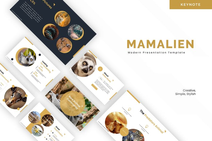 Thumbnail for Mamalien - Keynote Template