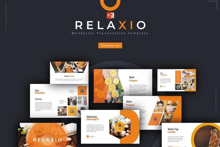 Thumbnail for Relaxio - Powerpoint Template