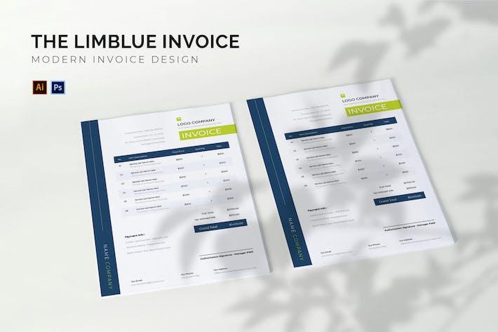 Thumbnail for Limblue - Invoice Template
