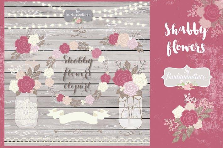 Thumbnail for Shabby Chic dusty rose design