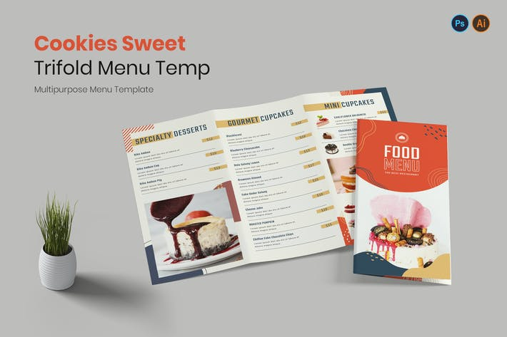 Thumbnail for Cookies Sweet Restaurant Menu
