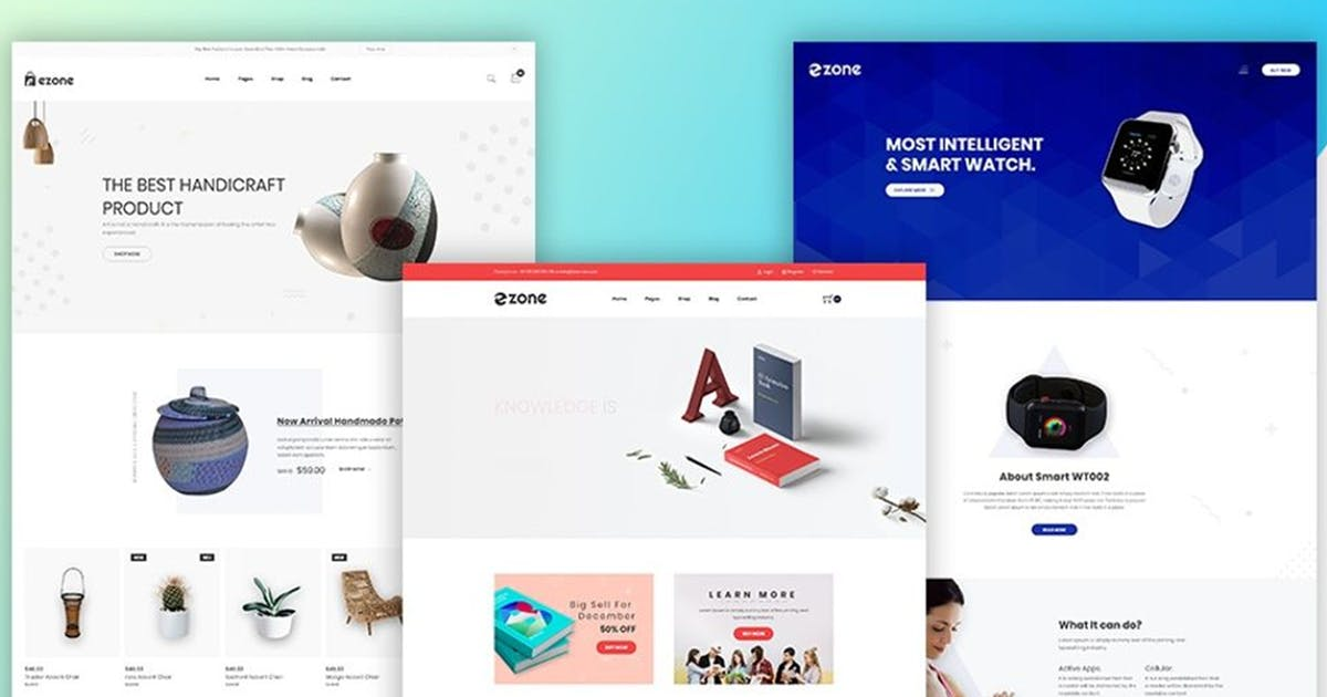 Download Ezone - Multipurpose eCommerce Bootstrap4 Template by codecarnival