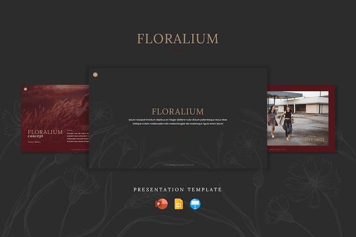 Thumbnail for Floralium - Шаблон презентации