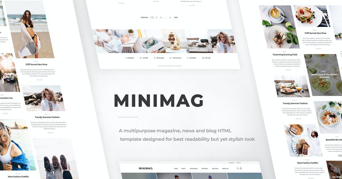 Download MINIMAG - Magazine & Blog HTML Template by AtiX