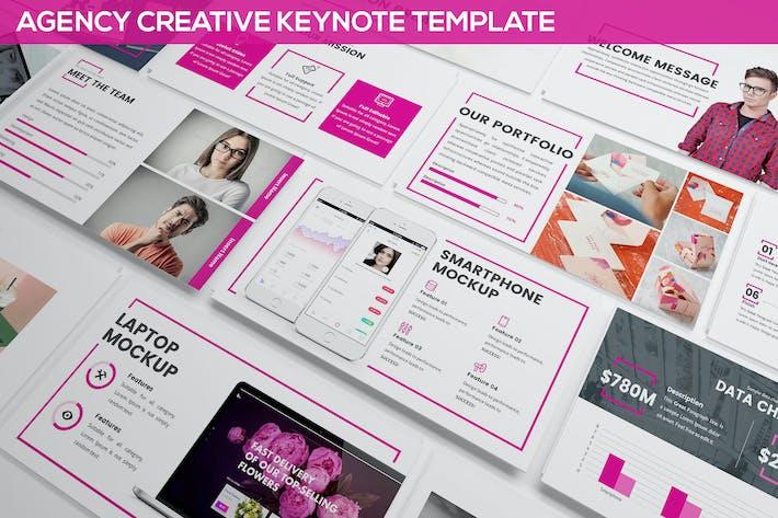 Thumbnail for Agency Creative Keynote
