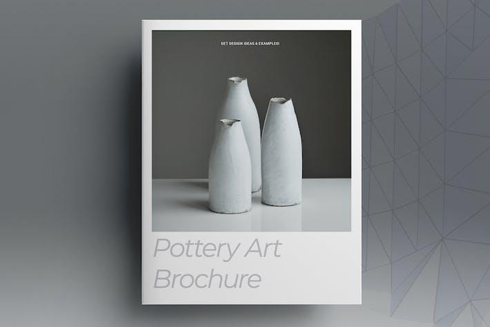 Thumbnail for Pottery Art Brochure Template
