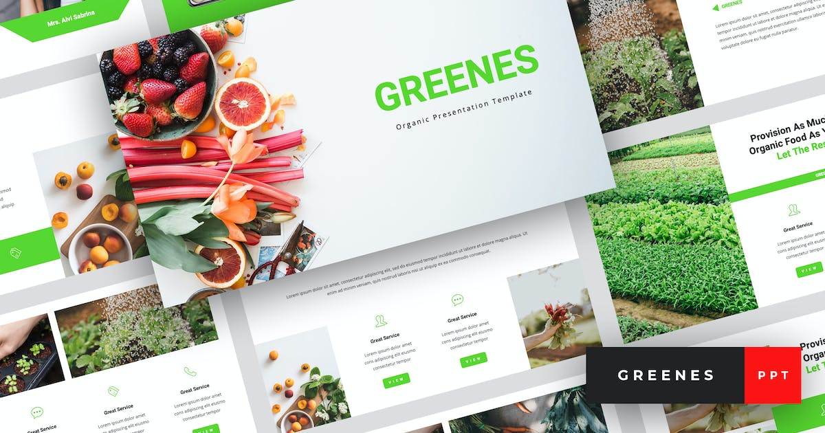 Download Greenes - Organic PowerPoint Template by StringLabs