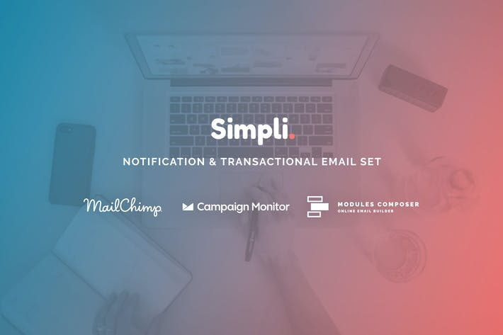 Thumbnail for Simpli - Notification Email Templates