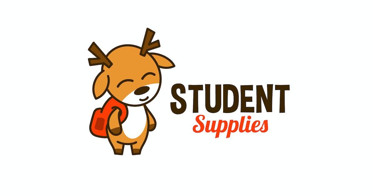 Download Cartoon Cute Deer Mascot Character Logo by Suhandi