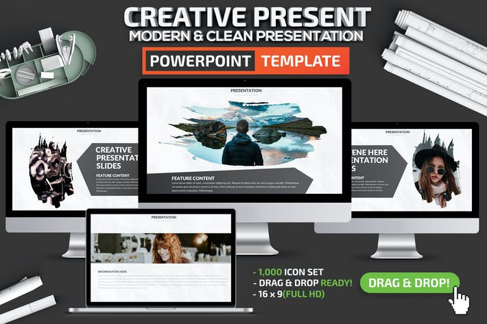 Thumbnail for Creative Powerpoint Presentation