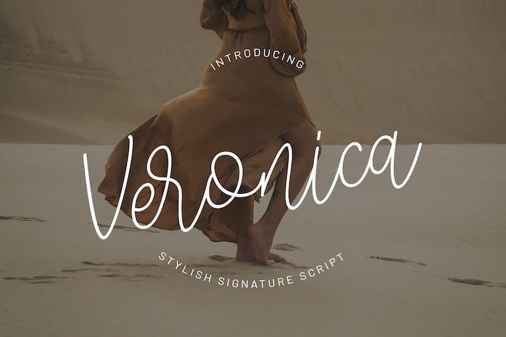 Cover Image For Veronica - Signature Script Police YR