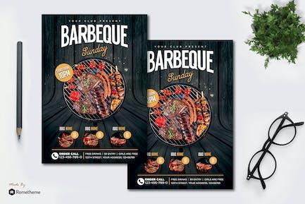 Barbeque - Flyer MR