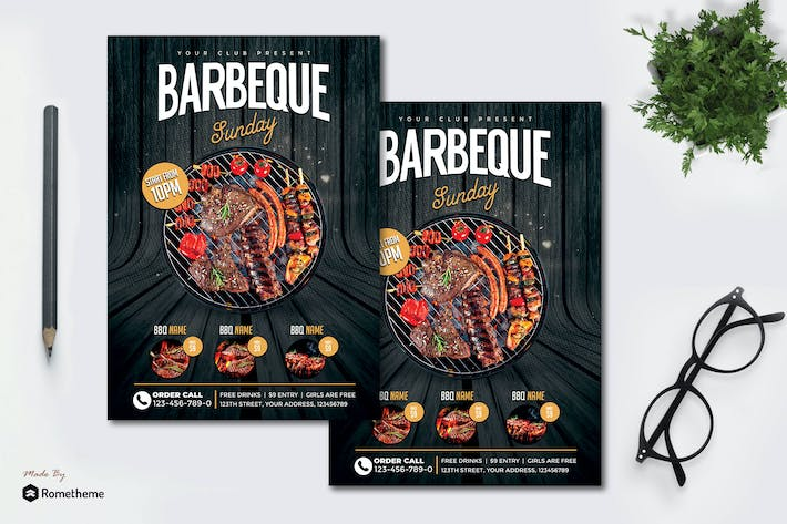 Thumbnail for Barbecue - dépliant MR