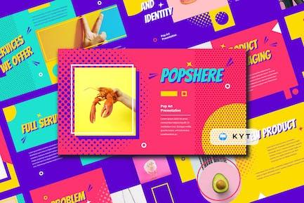 POPSPHERE - Pop Art Keynote Template