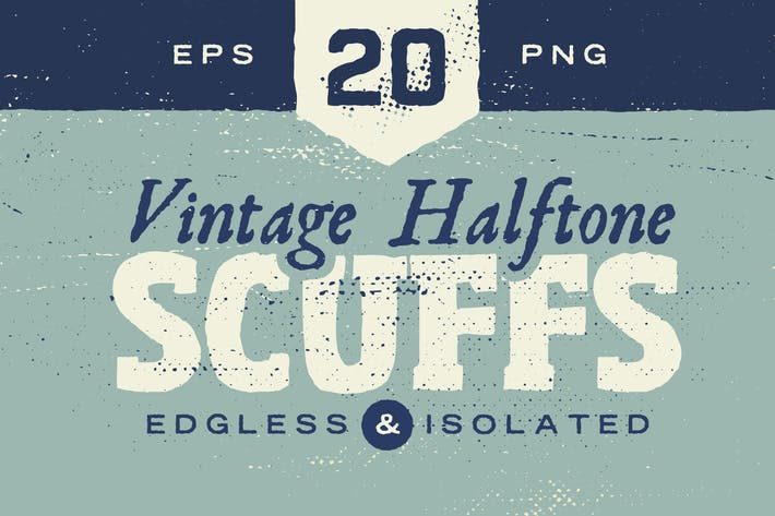 Thumbnail for Vintage Halftone Scuffs