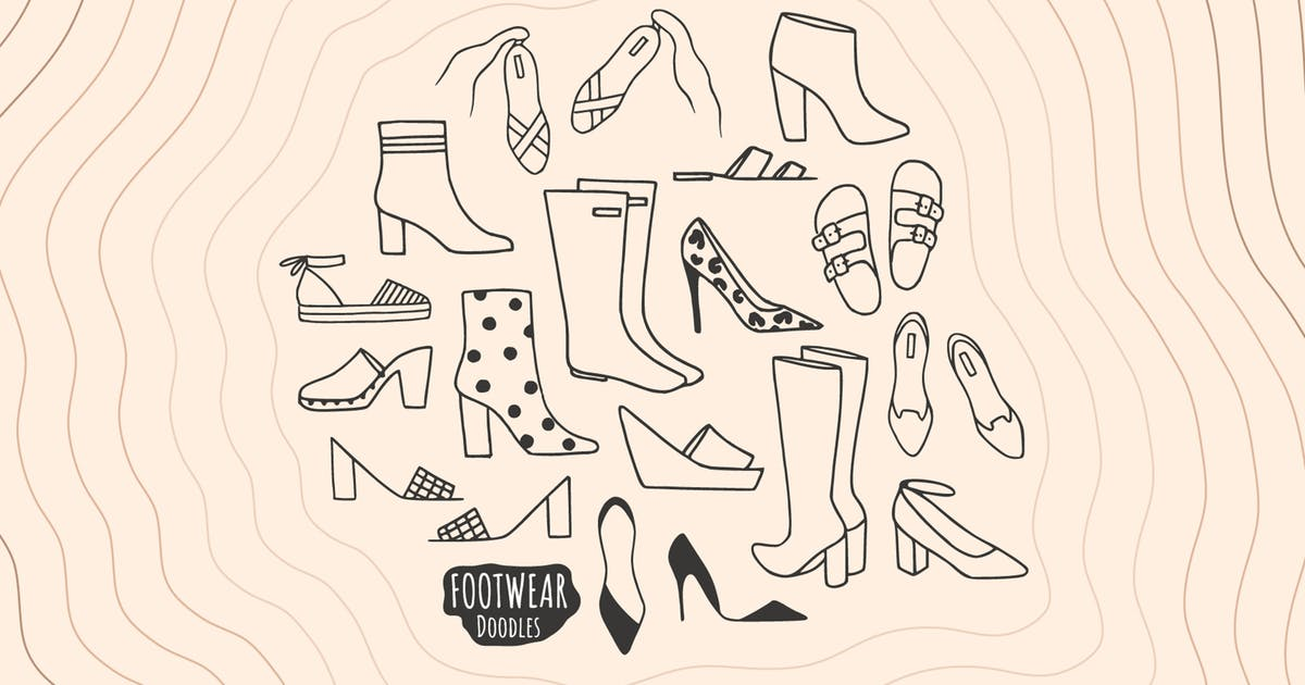Download Footwear Doodles by Burnhambox
