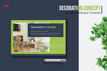 Decoration Concept – Catalogue Template