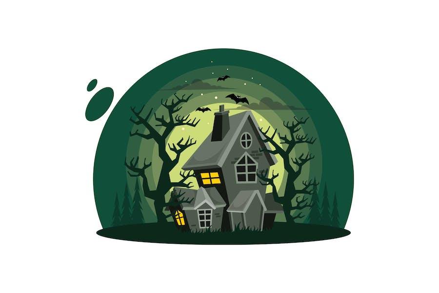 Хэллоуин Дом с привидениями
