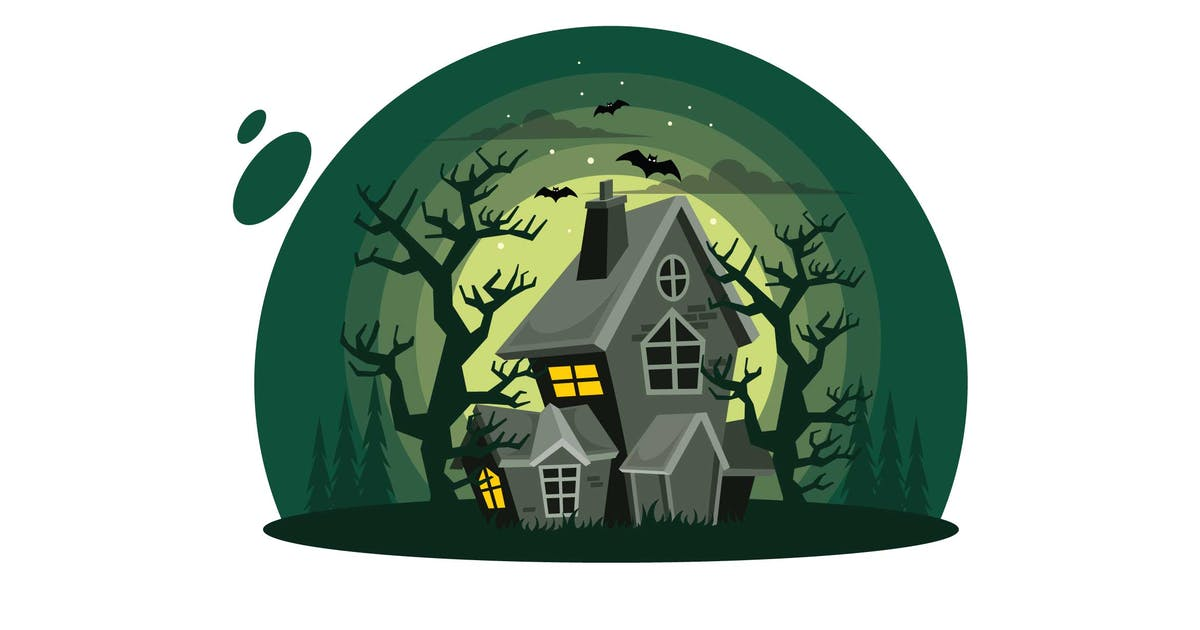 Haunted House Halloween by IanMikraz