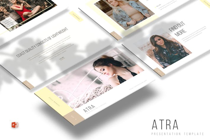 Thumbnail for Atra - Powerpoint Template