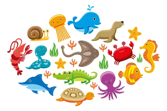 Thumbnail for Cute Sea Animals