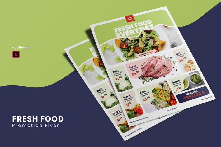 Thumbnail for Fresh Food Prootion Flyer