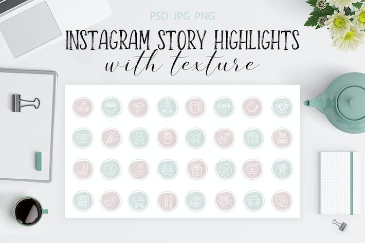 Cover Image For Instagram Highlight Covers V.1
