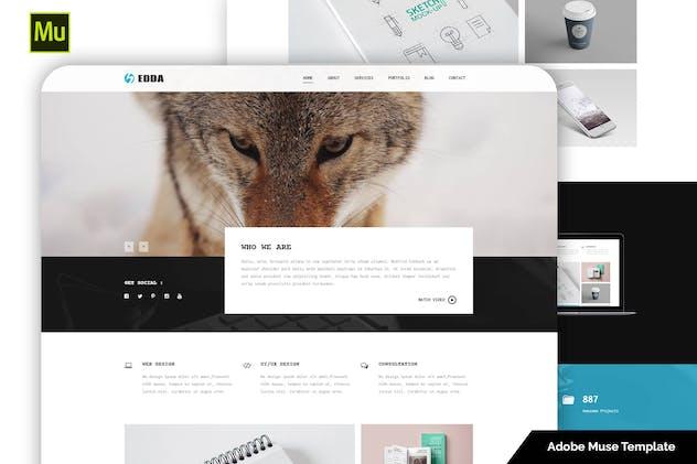 Edda - Responsive Creative Portfolio