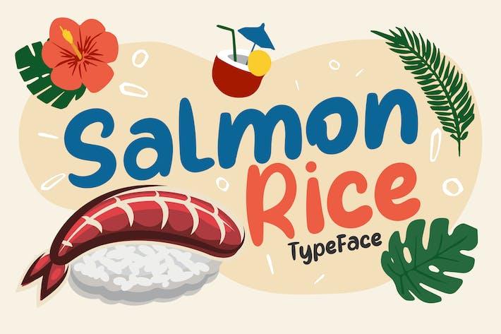 Thumbnail for Riz au saumon