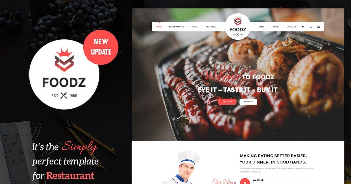 Download Foodz - Restaurant, Spa & Salon Joomla Template by templaza
