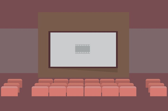 Thumbnail for Cinema - Illustration Background