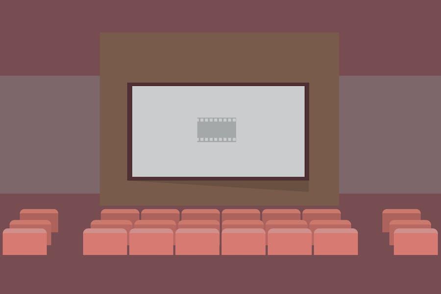 Cinema - Illustration Background