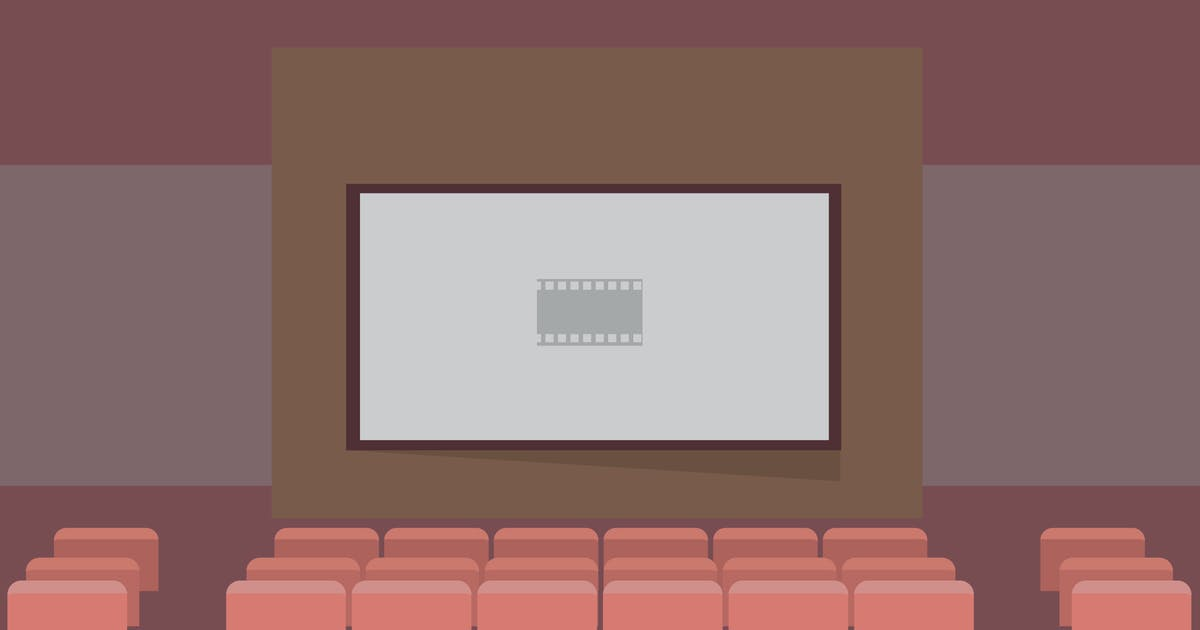 Download Cinema - Illustration Background by Graphiqa