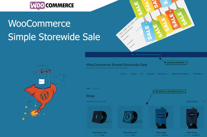 Thumbnail for WooCommerce Simple Storewide Sale