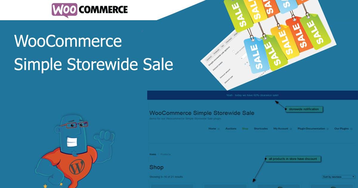 Download WooCommerce Simple Storewide Sale by wpgenie