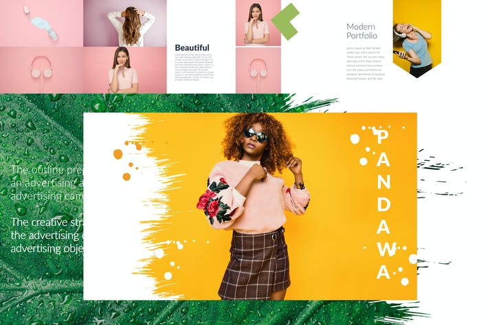 Thumbnail for PANDAWA Powerpoint Template