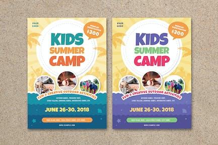 Kinder Summer Camp Flyer 03