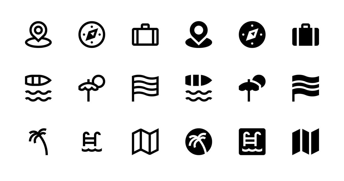 Download 32 Travel icons by polshindanil