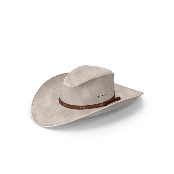 Ковбойская шляпа Белый