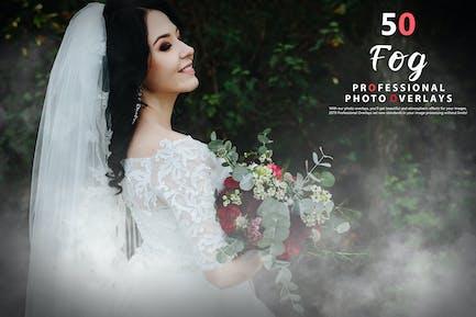 50 Fog Photo Overlays