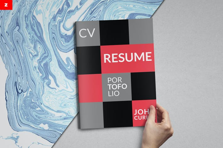 Thumbnail for Creative Resume Booklet - Z
